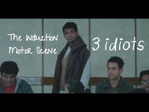Induction Motor - Funny scene | 3 Idiots | Aamir Khan | R Madhavan | Sharman Joshi