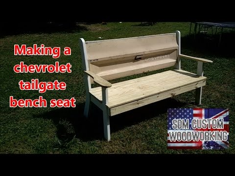 Making a chevrolet tailgate bench seat