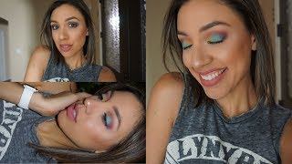 Get Ready with Me | Rainbow eyes... Lisa Frank called....😐