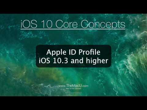 The new Apple ID Profile in iOS 10.3 Settings App.
