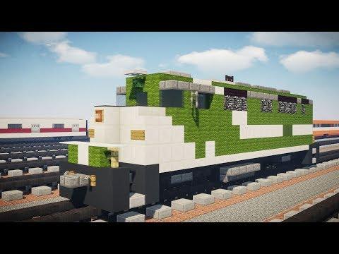 Minecraft GO Transit F59PH Locomotive Tutorial