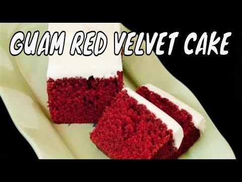 Guam Velvet Cake Recipe