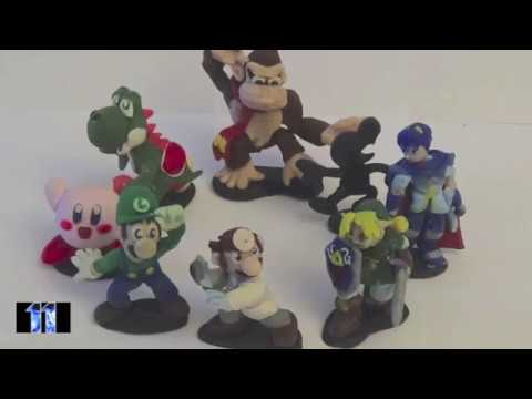Super Smash Bros. Melee Mini-Figures Wave 1 - VGCFM | LSuperSonicQ