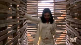 Glee - Brittany & Santana - Me Against The Music (Complete scene HD)