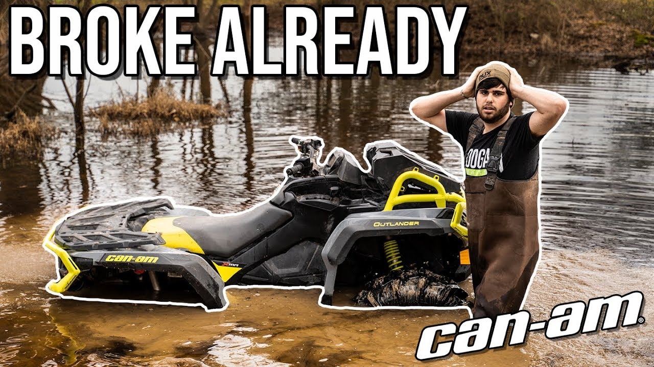 SUNK MY BRAND NEW CAN-AM! *NOT CLICK BAIT*