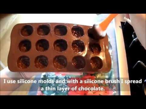 Baileys filled chocolates recipe (Cioccolatini al baileys)