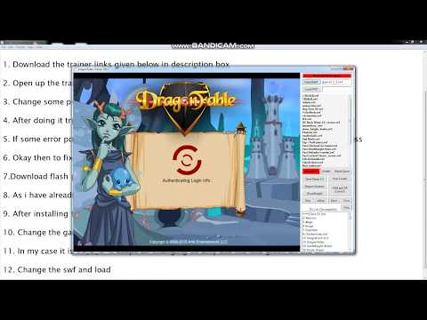 How to hack Dragonfable 2018 Working and FIX !!