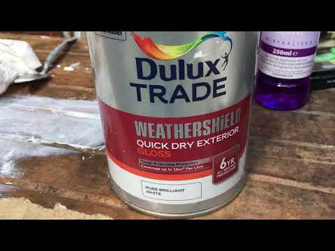Dulux  Exterior Water  Based paint   Weather shield  Quick drying  10 May 2018