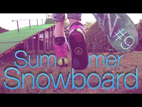 SUMMER TURF SNOWBOARD RAMP  🏂