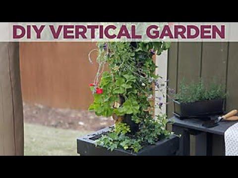 DIY Vertical Garden - DIY Network