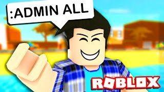 ROBLOX ADMIN COMMANDS TROLLING
