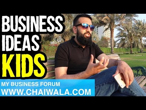 Business Ideas For Kids Children of Pakistan India | Azad Chaiwala Show