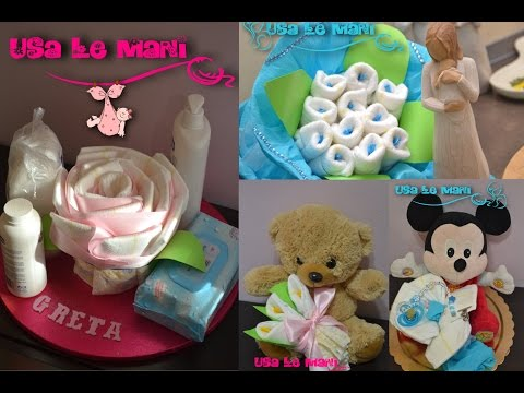 Tutorial fiori di pannolini / How to make diaper flowers