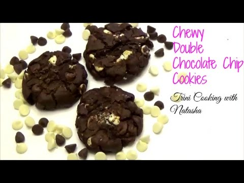 Chewy Double Chocolate Chip Cookies - Episode 361