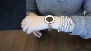 Pebble Time Round: Tailoring Your Steel Mesh Band