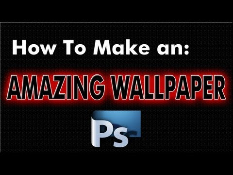 How to Make An Amazing Wallpaper In Photoshop! [Re-Made]
