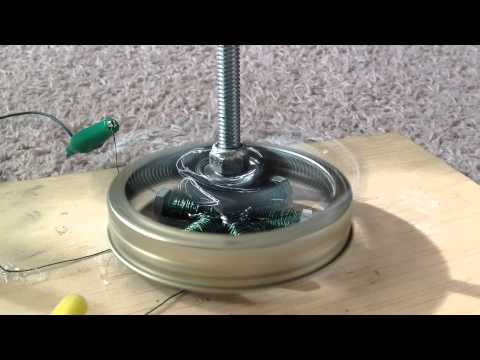 Simple Powerful Brushless DC Electric Motor