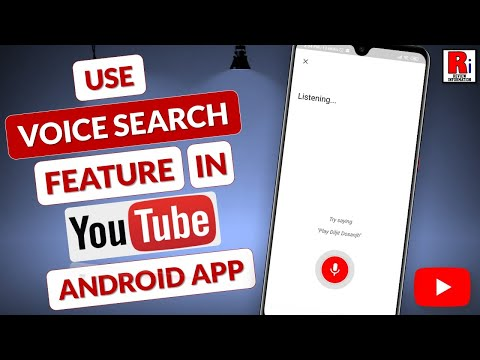 HOW TO USE VOICE SEARCH FEATURE IN YOUTUBE 2019