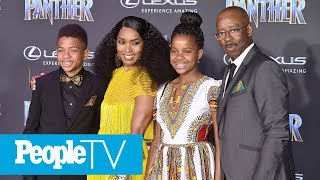 Angela Bassett Says Her Kids Have Faced Racism & Bullying | PeopleTV