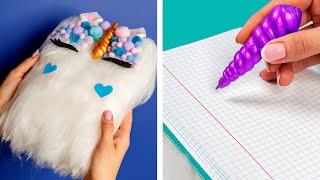 10 Fun DIY School Supplies!  School Hacks and More!