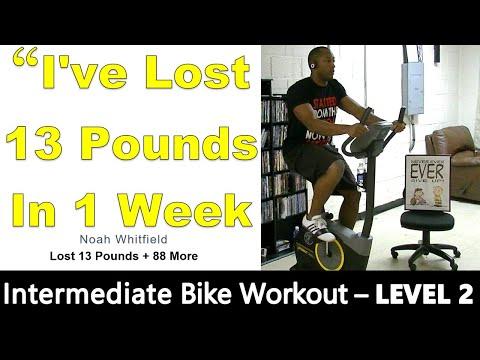 30 Minute Bike Workout (Burns 150 calories every 10min)
