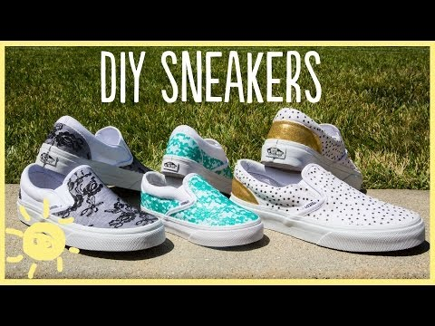 DIY | Lace Sneakers (Cute and Easy!!)