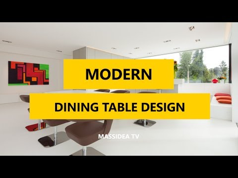 45+ Cool Modern Dining Table Design Ideas 2017