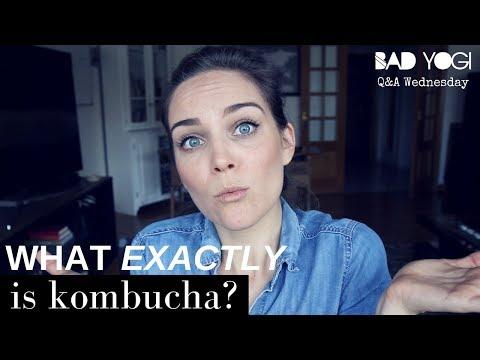 What's kombucha?