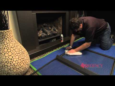 How to Clean the Glass on Regency CE Series Clean Face Gas Fireplaces