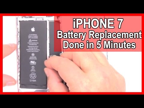 How To: Replace the Battery in your iPhone 7 in 5 Minutes