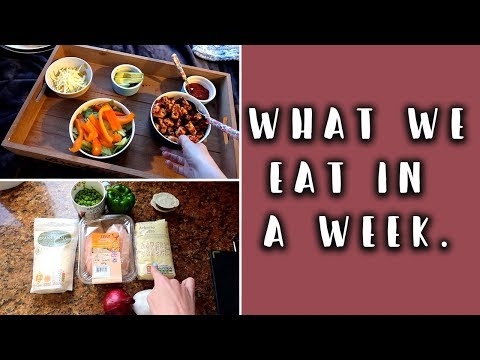 WHAT WE EAT IN A WEEK - FAMILY MEAL IDEAS