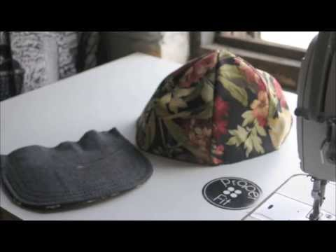 How to make a Snapback Baseball Hat   ProperFit DIY