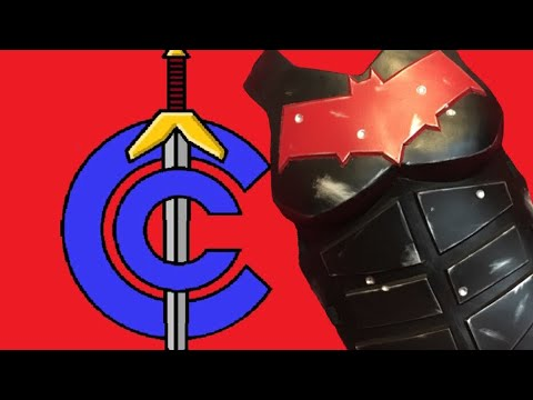 How To Make Red Hood Armor - Cosplay Airsoft: Red Hood Pt. 2