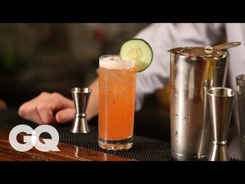 How to make a refreshing white rum cocktail with GQ & the Clover Club's Tom Macy