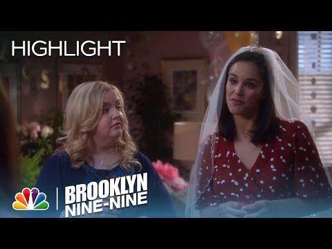 Amy Gets Ready For Her Bachelorette Party | Season 5 Ep. 19 | BROOKLYN NINE-NINE