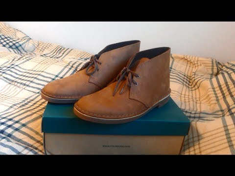 Clarks Bushacre 2 Beeswax Leather Chukka Boots Review