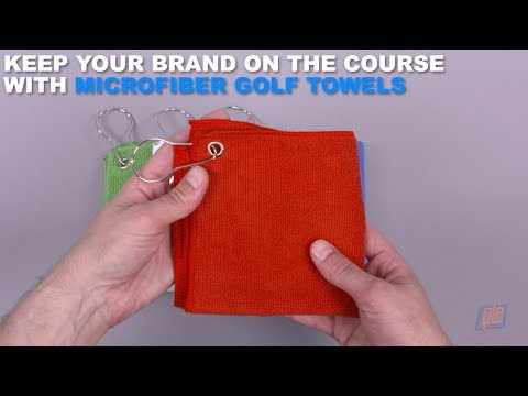 Keep Your Brand on the Course with Microfiber Golf Towels