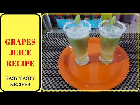Grapes Juice Recipe in Tamil/How to make Grapes Juice in Tamil