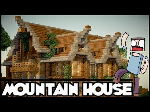Minecraft Mountain House: Showcase