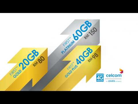 New Celcom FIRST™ Postpaid Plans
