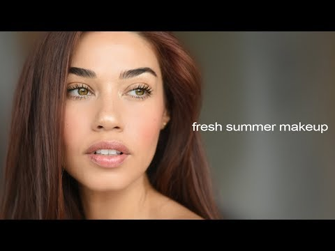 Summer Fresh Faced Makeup | Eman
