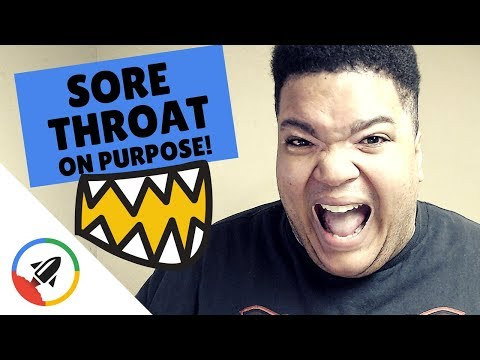 How To Make Your Throat Sore | 5 NON-SICKENING METHODS
