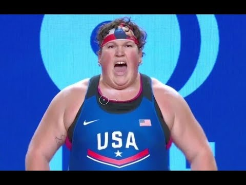 Women's 90+ kg A Session Clean and Jerk - 2017 IWF Weightlifting World Championships