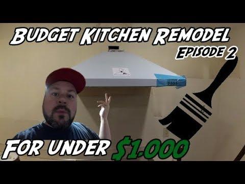 DIY How to Hang a Kitchen Hood   DIY Kitchen Remodel