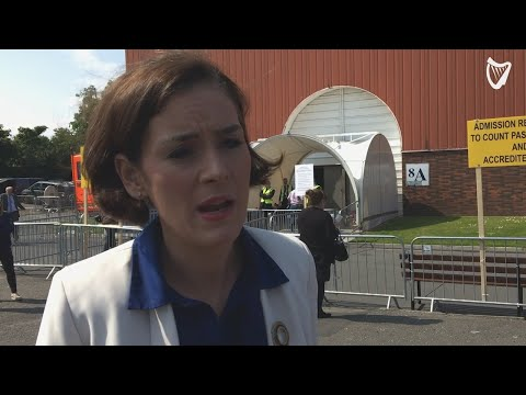 VIDEO: 'The people have spoken and it's our job to listen to them' - TD Kate O'Connell at RDS count