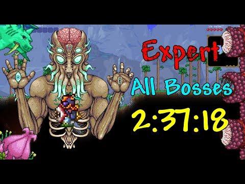 Terraria Speedrun All Bosses Expert Seeded 2:37:18 (WR)