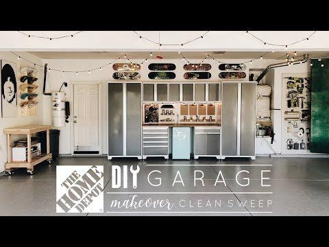 DIY Garage Makeover