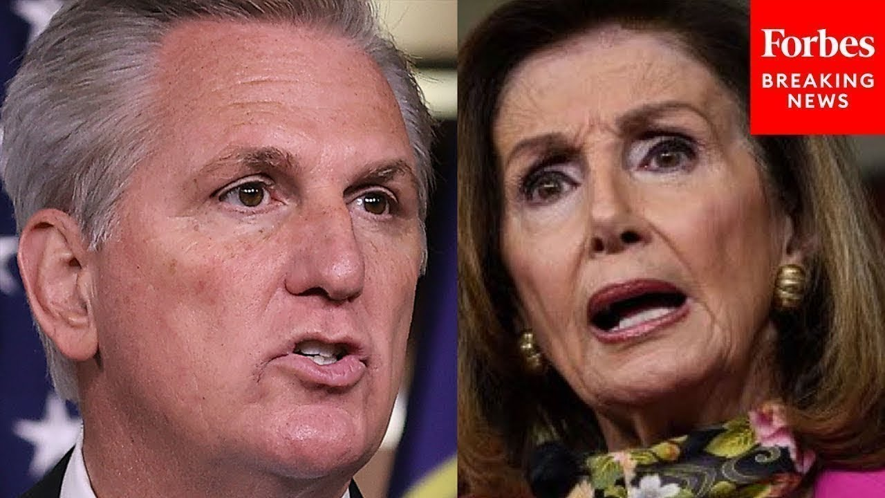 JUST IN: House GOP Leadership Calls Pelosi's January 6 Committee 'Failed' Moments Before It Begins