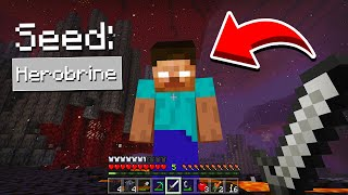You Can Find Herobrine In This Seed In Minecraft Pocket Edition Herobrine Seed In Minecraft Pe