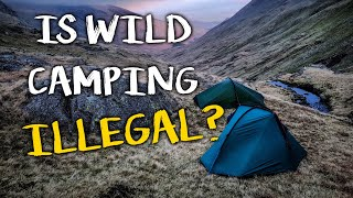 CAMPING for beginners | Ep 01 | Is Wild Camping ILLEGAL in the UK ?